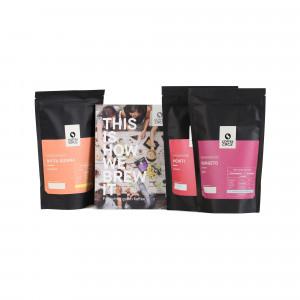 Spezialitäten Dreierpack & Kaffeewissen Buch