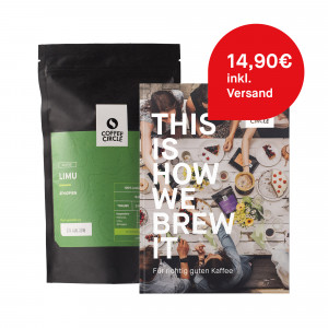 Cold Brew Kaffee & Buch