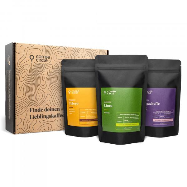 Filterkaffee Probierpaket Mini