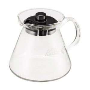 Kalita Wave Server Kaffeekanne mit Glasgriff