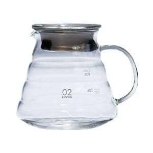 Hario V60 Range Server - Kaffeekanne aus Glas - 600 ml