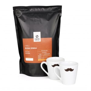 Gourmet-Kaffee für Vollautomaten mit Tassen