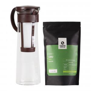 Cold Brew Coffee Pot & Kaffee im Set