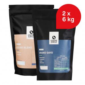 Büro-Paket: 12 kg Espresso für Siebträgermaschine