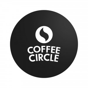 Coffee Circle Logo Sticker